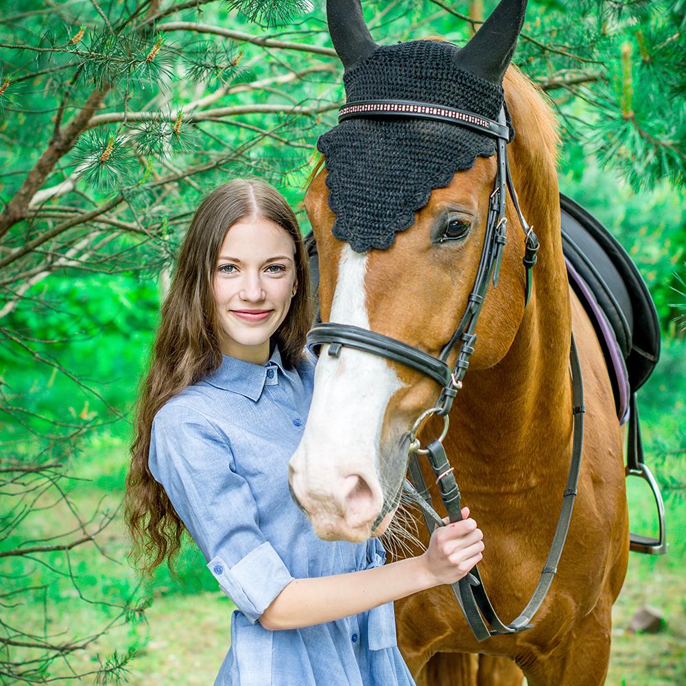 fotosesija su zirgais